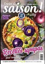 Journaux et magazines Carrefour city : City Bi-mensuel S44S45