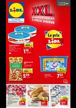 Prospectus Lidl : Quantité maxi à prix mini