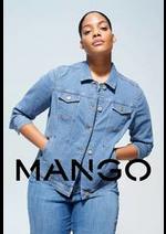 Catalogues et collections MANGO : Denim Grandes Tailles 2020   Violeta by Mango