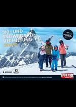 Prospectus SportXX : Skivermietungsbooklet 2020/2021