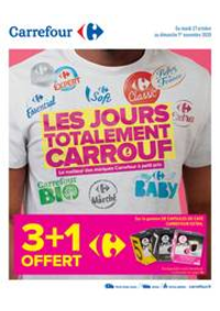 Promos et remises Carrefour GENNEVILLIERS : LES JOURS TOTALEMENT CARROUF