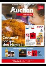 Prospectus Auchan : C'est aussi bon que chez mamie !
