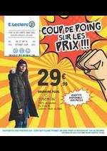 Prospectus E.Leclerc : COUP DE POING SUR LES PRIX !!!