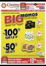 Prospectus Supermarchés Casino : Big promos