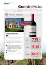 Prospectus Colruyt : Grands Vins
