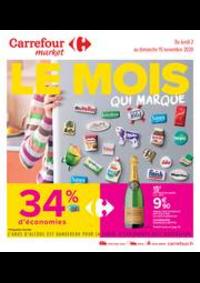 Promos et remises Carrefour Market VAUX LE PENIL : Le mois qui marque
