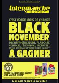 Prospectus Intermarché Super Dijon 11 boulevard de l'Université : BLACK NOVEMBER