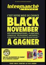 Prospectus Intermarché Super : BLACK NOVEMBER