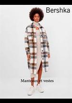 Catalogues et collections Bershka : Manteaux et vestes