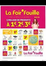Bons Plans La Foir'Fouille : 1 million de produits à 1€, 2€, 3€