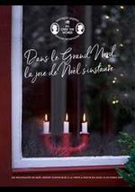 Prospectus Søstrene Grene : Dans le Grand nord, la joie de Noël sinstaure