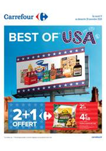 Promos et remises Carrefour : BEST OF USA