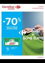 Bons Plans Carrefour Market : Un concentré de bons plans