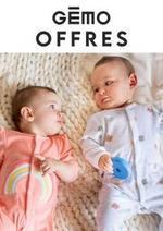 Prospectus Gemo : Nouveautes Bébé
