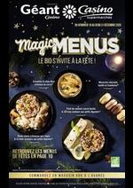 Prospectus Géant Casino : Magic menus