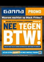 Promos et remises GAMMA : Waarom wachten op Black Friday?