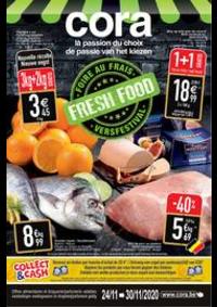 Prospectus Cora ANDERLECHT : le marché du frais - verswaren 24-11