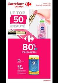 Prospectus Carrefour Market MASSY : Le top 50 de la beauté