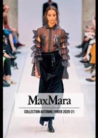 Prospectus Max Mara Paris 7 : Collection Automne/Hiver 2020-21