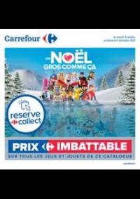 Prospectus Carrefour Drancy : Découvrez nos jouets de noël !