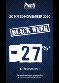 Promos et remises Pronti Ixelles : Offre Pronti Black Friday
