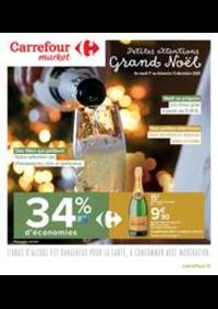 Prospectus Carrefour Market VALENTON : Petites attentions Grand Noël