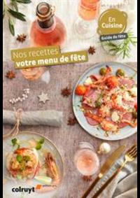 Prospectus Colruyt ANDENNE : Nos recettes votre menu de fête