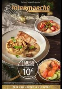 Prospectus Intermarché Super Chilly Mazarin : Vos menus de fêtes
