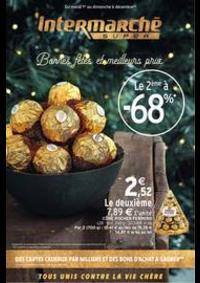 Prospectus Intermarché Super Villeneuve le Roi : Bonnes fêtes et meilleurs prix