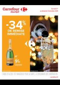 Prospectus Carrefour Market TREMBLAY EN FRANCE : Des bons plans à croquer