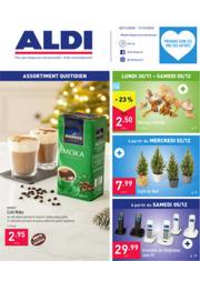 Prospectus Aldi HANNUT : Folder Aldi