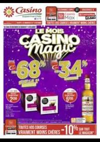 Prospectus Supermarchés Casino BESANCON : Le mois Casino magic