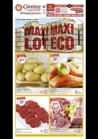 Prospectus Supermarchés Casino BESANCON : Maxi lot, maxi éco