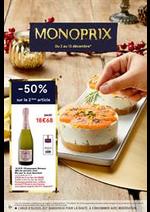 Prospectus Monoprix : Noël