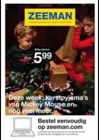 Prospectus Zeeman Hannut : Deze week: kerstpyjama's van Mickey Mouse en nog veel meer