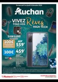 Prospectus Auchan TAVERNY : Vivez tous vos Rêves High Tech