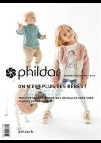 Prospectus Phildar Paris 9e- Rue Provence : Tricotez Bébés