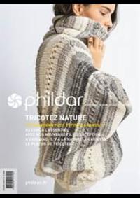 Prospectus Phildar distributeur Claye-Souilly : Collection Fusionné