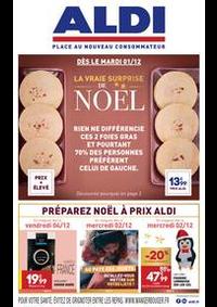 Prospectus Aldi Delle : LA VRAIE SURPRISE DE NOËL