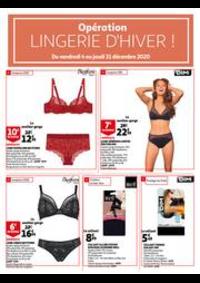 Prospectus Auchan Leers : Opération Lingerie d'hiver !