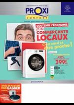 Prospectus Proxi Confort : Soutenir l'économie et les commerçants locaux
