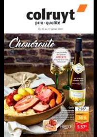 Prospectus Colruyt CHAMPAGNOLE : Choucroute