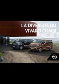 Guides et conseils Opel Enghien : Vivaro Combi