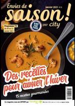 Menus Carrefour city : Envies de Saison !