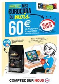 Prospectus Cora PUBLIER - AMPHION-LES-BAINS : Mes €urocora du mois