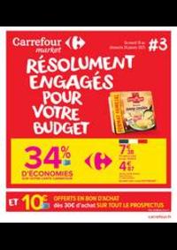Prospectus Carrefour Market Thonon-les-Bains - Avenue Jules Ferry : Résolument engagés pour votre budget