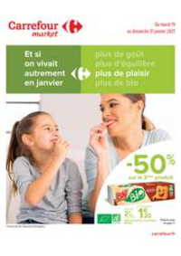 Prospectus Carrefour Market Thonon-les-Bains - Avenue Jules Ferry : Manger Sain
