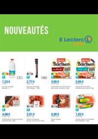 Prospectus E.Leclerc drive Sciez-sur-Léman : Nouveautés