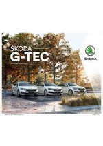 Prospectus Skoda : Catalogue Škoda G-TEC