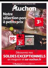 Prospectus Auchan GRANDE SYNTHE : Le bon goût à petits prix !
